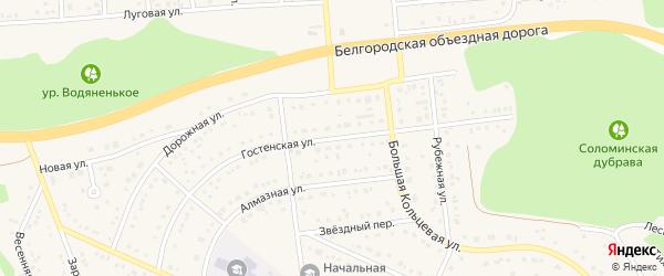 Гостенская улица на карте Таврово 10-й микрорайона с номерами домов