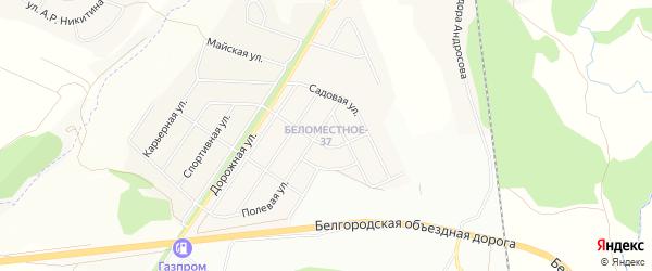 СТ Ручеек на карте Северного поселка с номерами домов