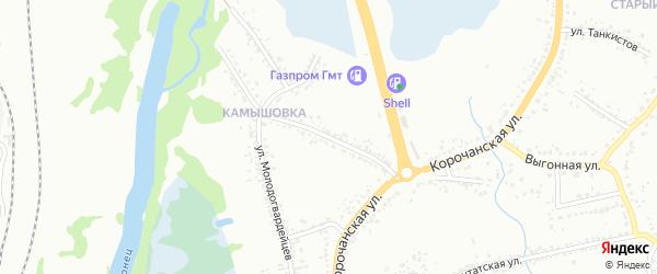 Улица Павлика Морозова на карте Белгорода с номерами домов