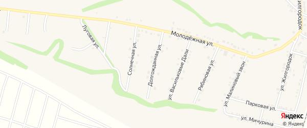 Долгожданная улица на карте села Гостищево с номерами домов