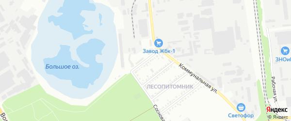 Улица Тимирязева на карте Белгорода с номерами домов