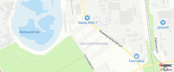 Улица Матросова на карте Белгорода с номерами домов