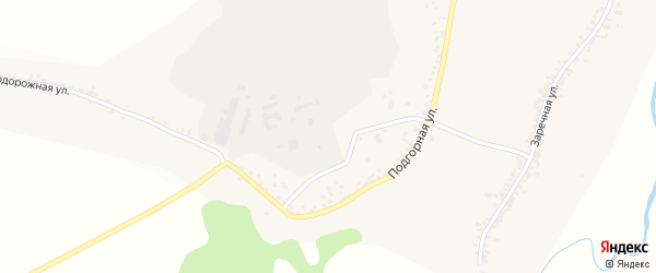 Заводская улица на карте села Петропавловки с номерами домов
