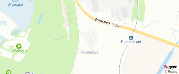 Шебекинская улица на карте Белгорода с номерами домов