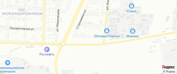 Казацкий переулок на карте Белгорода с номерами домов