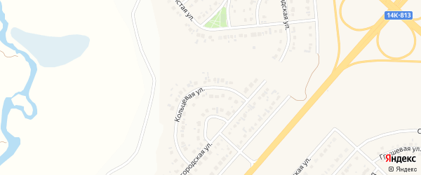 Кольцевая улица на карте Новосадового поселка с номерами домов
