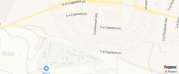 2-я Садовая улица на карте села Ближней Игуменки с номерами домов