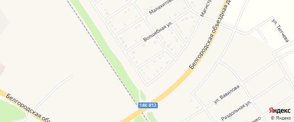 2 пер. Волшебный на карте поселка Разумного с номерами домов