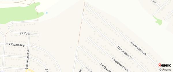 Грушёвый переулок на карте села Ближней Игуменки с номерами домов