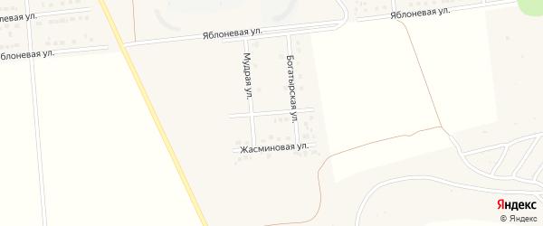 Улица Айвазовского на карте поселка Разумного с номерами домов