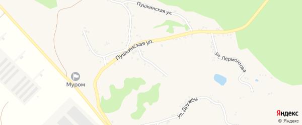 Улица Циолковского на карте села Мурома с номерами домов