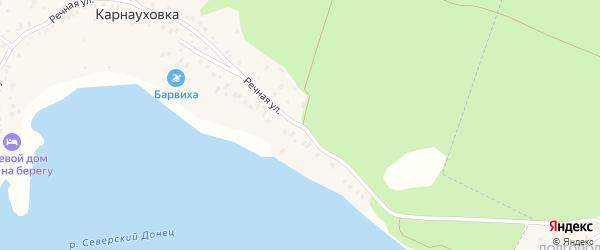 Речная улица на карте поселка Маслова Пристани с номерами домов
