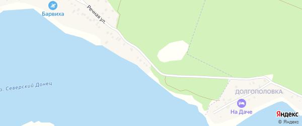Речная улица на карте села Карнауховки с номерами домов