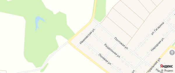 Ивановская улица на карте села Графовки с номерами домов