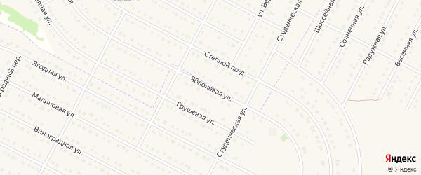 Рождественская улица на карте села Ближней Игуменки с номерами домов