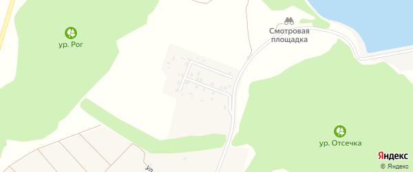 Улица Лесная Поляна на карте села Графовки с номерами домов