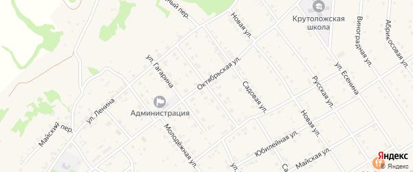 Переулок Молчанова на карте поселка Разумного с номерами домов