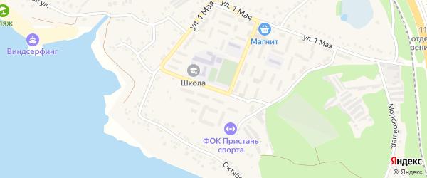 Улица 72 Гвардейской Дивизии на карте поселка Маслова Пристани с номерами домов