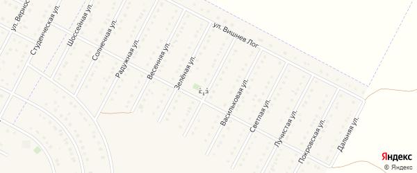 Майская улица на карте села Севрюково с номерами домов