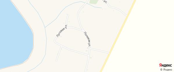 Полевая улица на карте села Кривцово с номерами домов