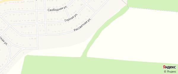 Моховая улица на карте поселка Разумного с номерами домов