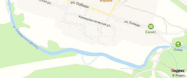 Речная улица на карте села Безлюдовки с номерами домов