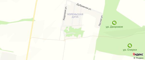 Карта Гремячьего хутора в Белгородской области с улицами и номерами домов