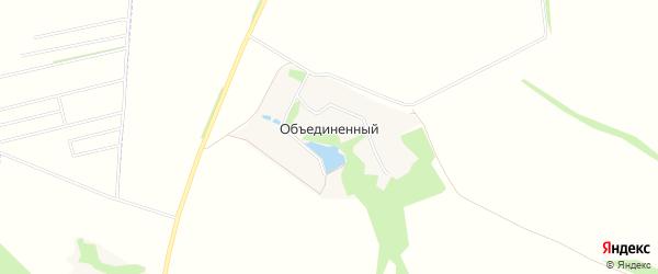 Карта Объединенного хутора в Белгородской области с улицами и номерами домов