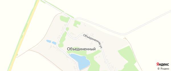 Объединенная улица на карте Объединенного хутора с номерами домов