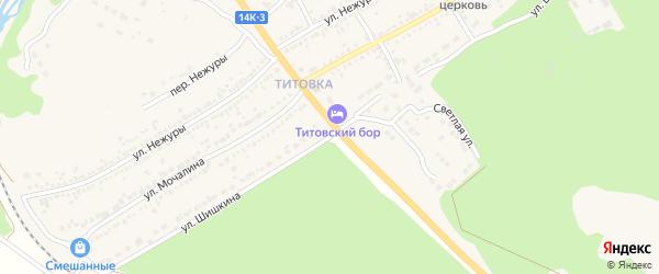 Улица Шишкина на карте Шебекино с номерами домов