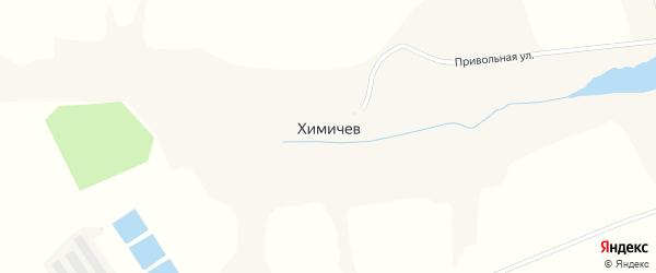 Привольная улица на карте хутора Химичева с номерами домов