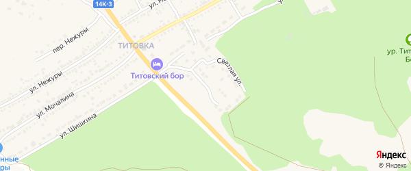 Тихвинская улица на карте Шебекино с номерами домов