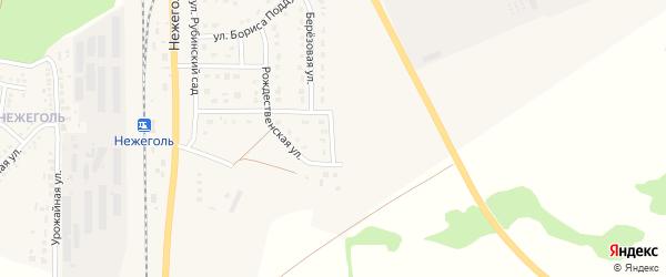 Архангельская улица на карте Шебекино с номерами домов
