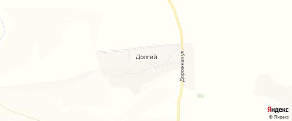 Карта Долгого хутора в Белгородской области с улицами и номерами домов