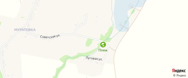 Луговая улица на карте села Чураево с номерами домов