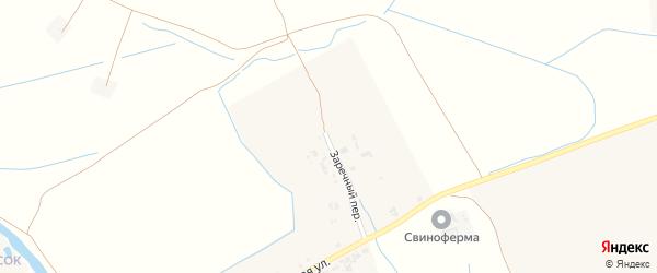 Заречный переулок на карте Крапивного села с номерами домов