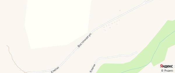 Восточная улица на карте села Подольхи с номерами домов