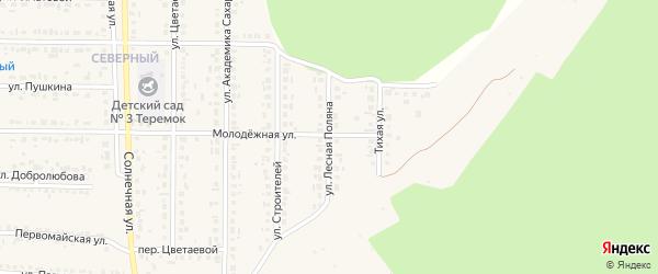 Улица Лесная Поляна на карте Шебекино с номерами домов