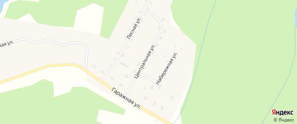 Лесная улица на карте поселка Золотухи с номерами домов