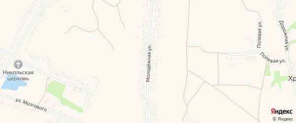 Молодежная улица на карте села Ломово с номерами домов