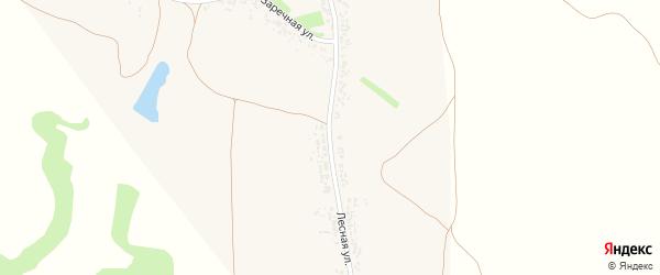 Лесная улица на карте села Подкопаевки с номерами домов