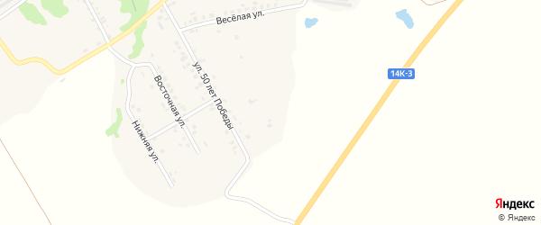 Улица Акционеров на карте Шебекино с номерами домов