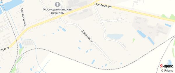 Дальняя улица на карте Шебекино с номерами домов