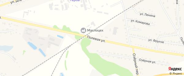 Полевая улица на карте села Ржевки с номерами домов