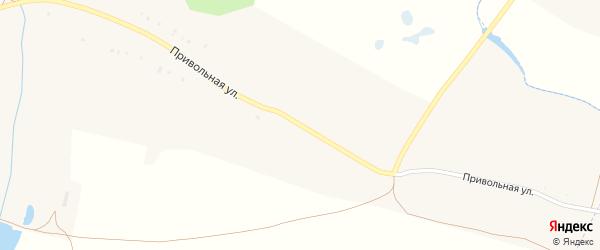 Привольная улица на карте села Радьковки с номерами домов