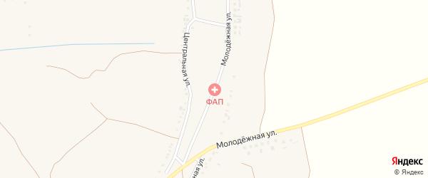 Молодежная улица на карте села Уколово с номерами домов