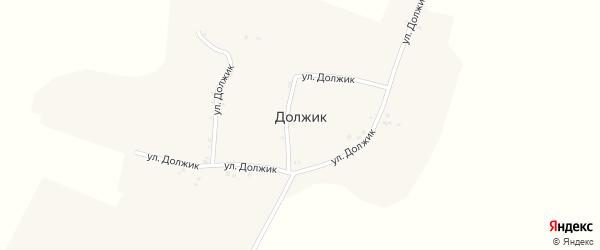 Улица Должик на карте хутора Должика с номерами домов