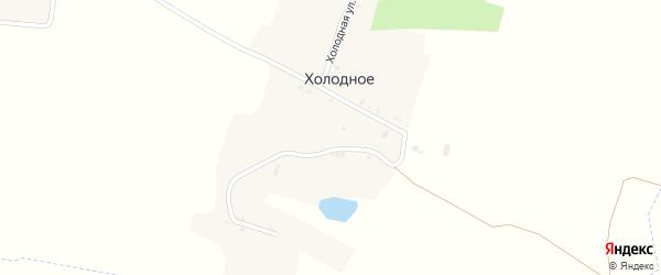 Холодная улица на карте хутора Холодного с номерами домов