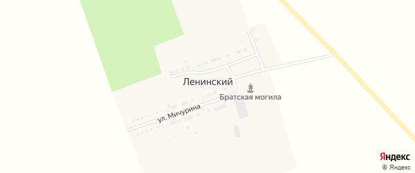 Садовая улица на карте Ленинского поселка с номерами домов