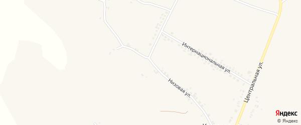 Низовая улица на карте села Кощеево с номерами домов